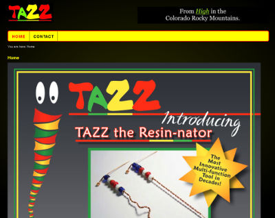 Tazz the Resinator