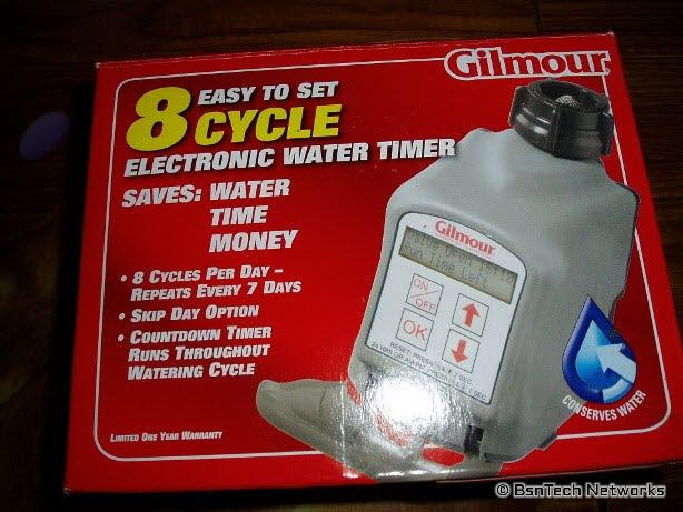 Gilmour Automatic Water Timer