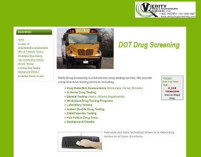 Verity Drug Screening