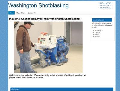 Washington Shotblasting Website
