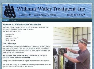 Williams Water Treatment