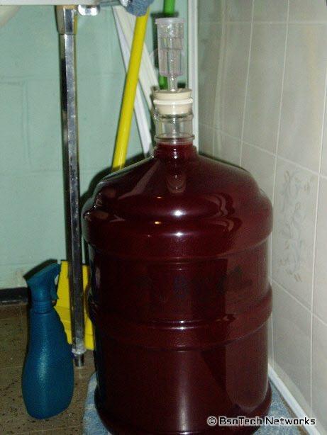 Wine in 5-Gallon Better Bottle