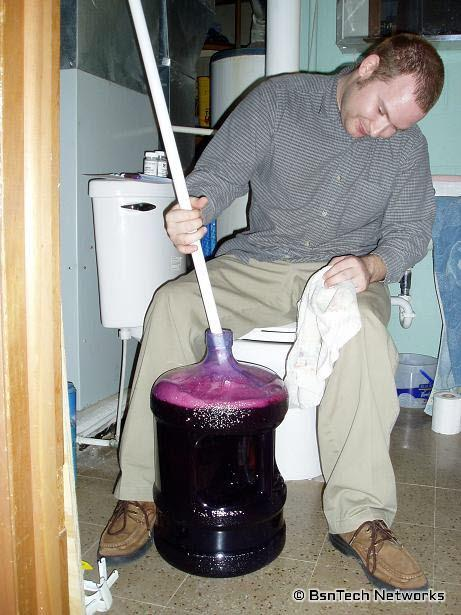 Wine Stirring
