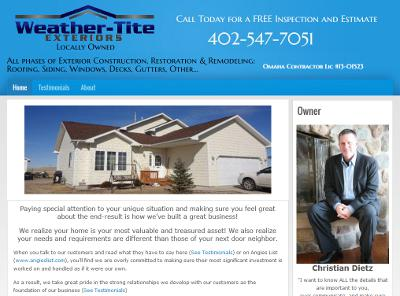 Weather-Tite Exteriors - Omaha, NE