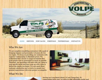 Volpe Construction Services